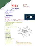 Asesor de TESIS-ESTADÍSTICA - 2013 SiCel Lista....doc