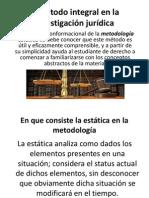 El método integral en la investigación jurídica