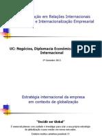 Estrategia Internacional - Aula 4 - Fev13