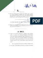 Sen. Merkley's FISC disclosure bill