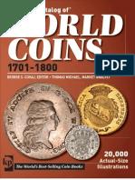 Krause World Coins 1701-1800 5 Edition
