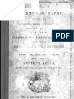 Mitchell's Ancient Geography (1859)
