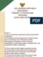 Undang-undang Guru Republik Indonesia