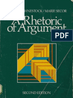 Fahnestock - Secor - A.rhetoric.of.Argument