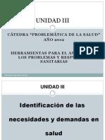 Unidad III - 2012