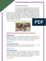 Zonas Productoras de Vid en La Region