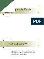 Orígenes y evolución del turismo
