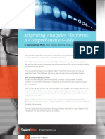 Migrating Analytics Platforms