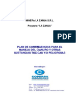 Plan Contingencia La Zanja Buenaventura