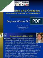 Aba - Evaluacion de La Conducta - Seleccionando y Definiendo La Conducta Blanco