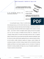 SVM Shareholder Class-Action - Amended Complaint - June 11, 2013