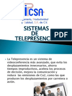 Sistemas de Telepresencia