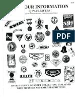 Boy Scout Memorabilia Information