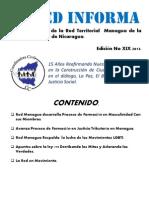 XIX Boletin Electronico Red Managua.