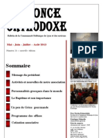 Annonce Orthodoxe 26