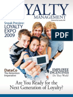Loyalty Management, Are You Ready for the Next Generation of Loyalty? powered by Loyalty 360 - April 2009