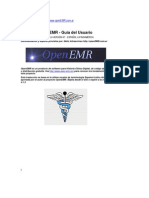 Guia del Usuario de OpenEMR - software para historia clinica digital