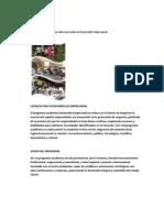 Perfil de Competencias Del Licenciado en Desarrollo Empresarial