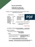Law Curriculum