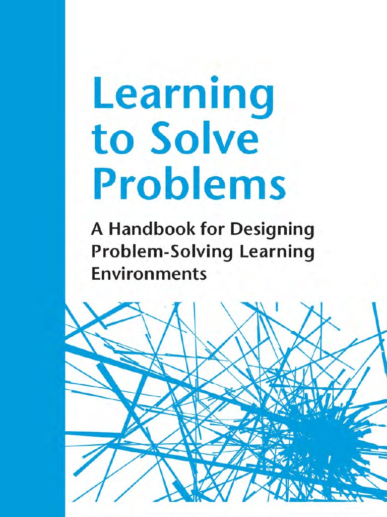 learning to solve problem