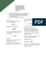 Prova 1 de Cálculo I - Engenharia Industrial Madeireira UFPR