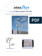 Estacion Meteorologica Wh1081 MeteoStar