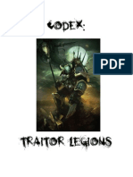 Codex Traitor Legions