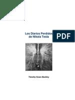 Green Beckley, T. - Los Diarios Perdidos de Nikola Tesla.