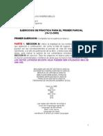 Ucab. Historia II. Material Para 1er Parcial Ejercicios Para