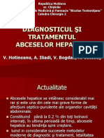 Diagnosticul Si Tratamentul Abceselor Hepatice