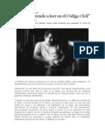 Aqui Se Aprende a Leer en El Codigo Civil - Gabriel Garcia Marquez