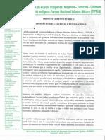 PRONUNCIAMIENTO PÚBLICOA LA OPINIÓN PÚBLICA NACIONAL E INTERNACIONAL