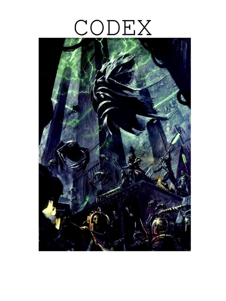 Necrons edition codex pdf 7th