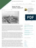 La garúa y los temblores de Lima