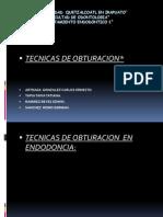103298350 Tecnicas de Obturacion