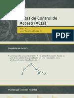Listas de Control de Acceso (ACLs)