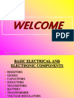 Theory - Basic Electrical and Electronic Components