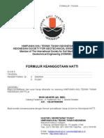 Formulir Anggota HATTI