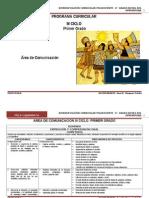 ÁREA COMUNICACIÓN INTEGRAL III CICLO_1º RUTAS