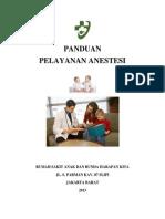 Cover Panduan Pelayanan Anestesi