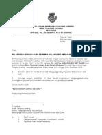 Surat Pelantikan Guru Penasihat Koko