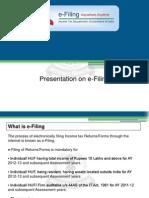e Filing Presentation