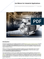 Selection of Induction Motors
