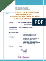 PAE Meningitis Bacteriana y Viral