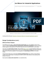 Selection of Induction Motors Part 3