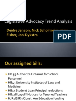 legislative trend analysis dj ns jf jd