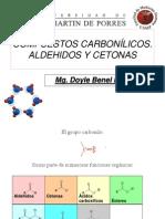 CLASE COMPUESTOS CARBONÍLICOS y carboxilicos