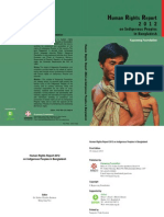 Human Rights Report-2012 on Indigenous Peoples in Bangladesh-Supported by Oxfam