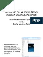Instalación del Windows Server 2003 en una maquina.ppt