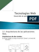 4. Arquitectura Web